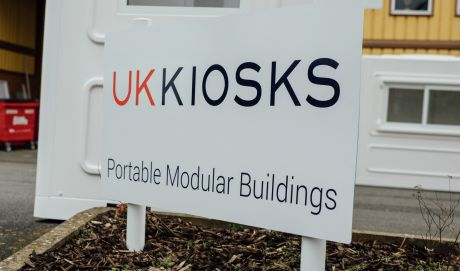 the uk kiosks official sign