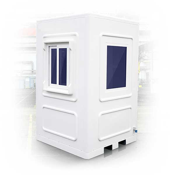 Kiosk Booth With Custom Made Security Shutters