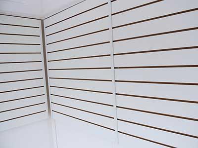 slat wall panelling